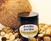 Nutty Butt Butter, Whipped - Your Tushy Is Going to Love This - 4 oz jar With Recipe - Lotion, Moisturizer