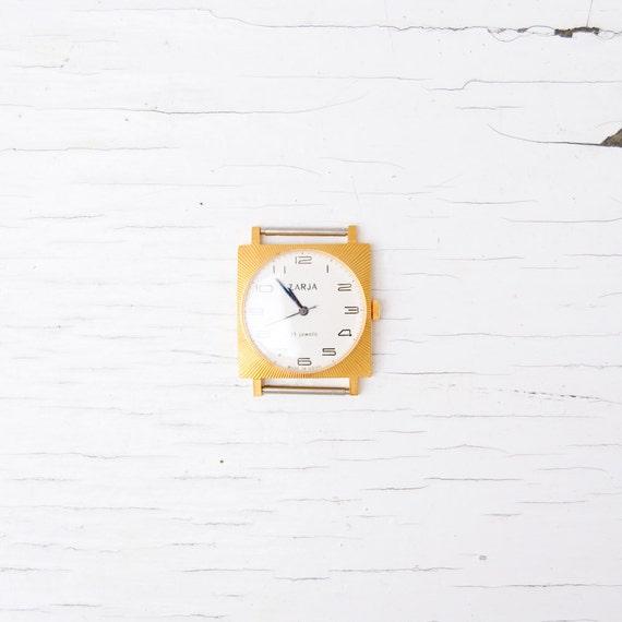 Zarja Soviet Vintage Women's Watch - USSR Wristwatch - Mechanical Retro Watch - Estonia - WORKING NEVER Used