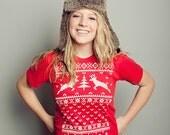 Deer Ugly Christmas Sweater T-shirt