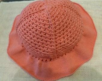 Cotton Crocheted Hat