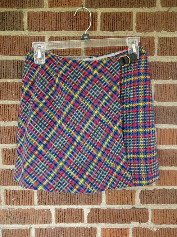 Reserved                skort / skirt/shorts / 1960s Short Short Skort