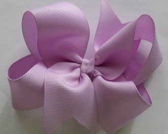 SALE  Hair Bow- Lavender- Hair Bow