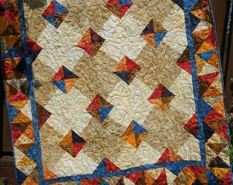 Quilt Pattern Autumn Gems Tonga Treat Layer Cake