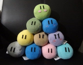 Three Small Dango Plush Set