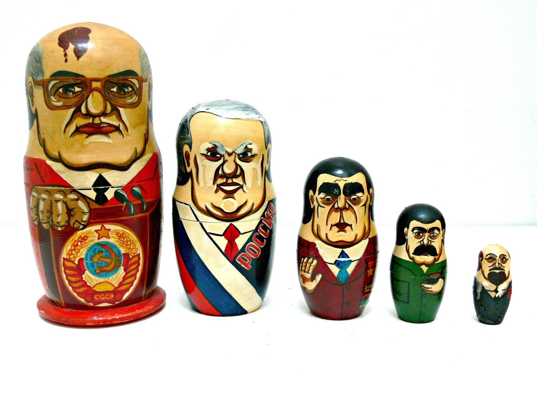 vintage russian matryoshka