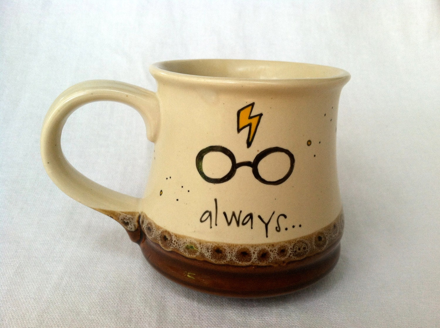 Unique Shaped Coffee Mugs Harry Potter Always Literary Quote Mug