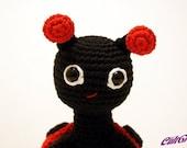 Buggy Lady - Ladybug Amigurumi Plush