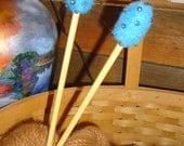Special Order Felted Knitting Needles for Deborah