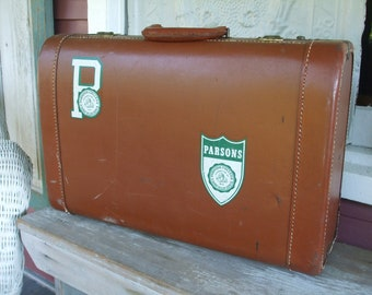 Leather Luggage Cape Way Parsons College Travel SALE