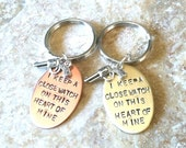 I Keep A Close Watch On This Heart Of Mine, Close Watch Keychain, Johhny Cash Keychain, Keep a Close Watch, gifts for him and her