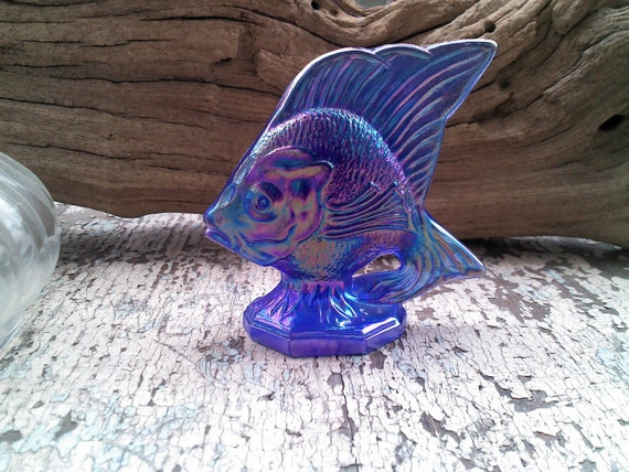 Fenton Sunfish Carnival Glass