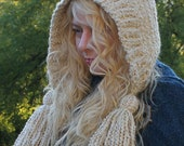 Crochet Hat Pattern-------TASSEL HAT-----Homespun Series
