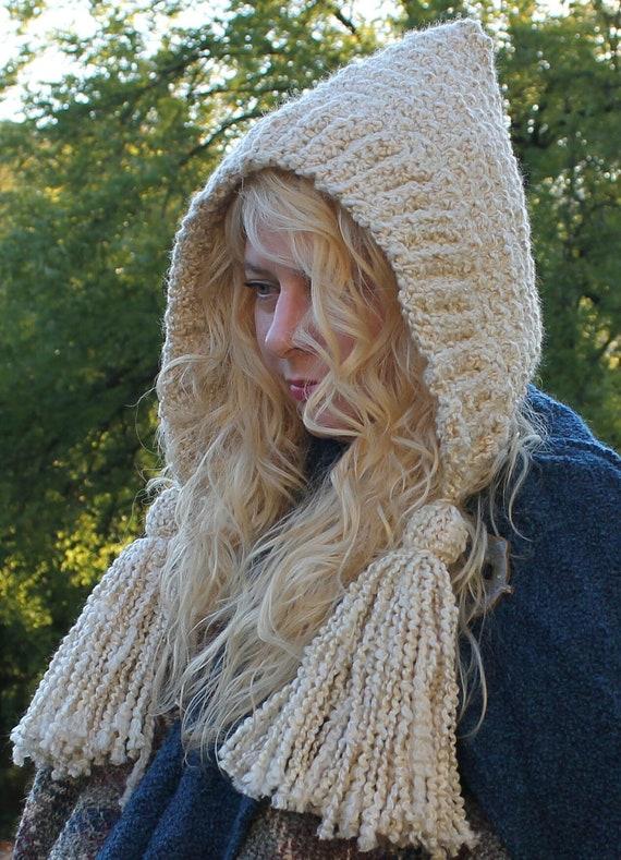 Crochet Hat PatternTASSEL HATHomespun Series