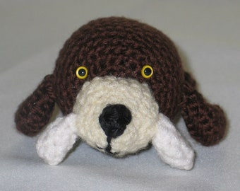 amigurumi crocheted walrus