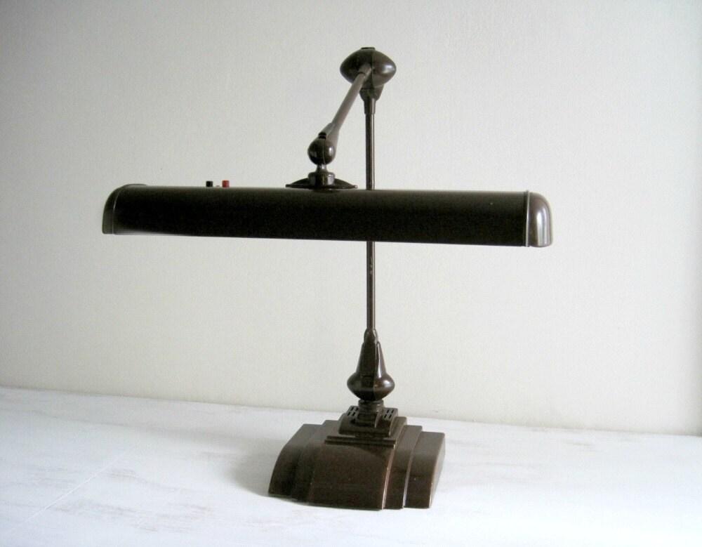 Vintage Industrial Desk Lamp Flexo Adjustable Arm Lamp