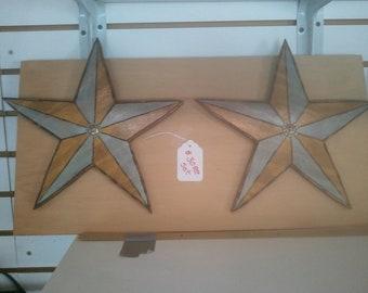 Texas Style Stars for Home decor