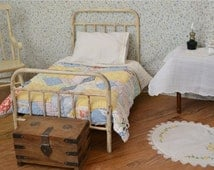 American Girl Bed Doll Bed Victorian Style Antique Iron Metal 18 Inch Doll Bed