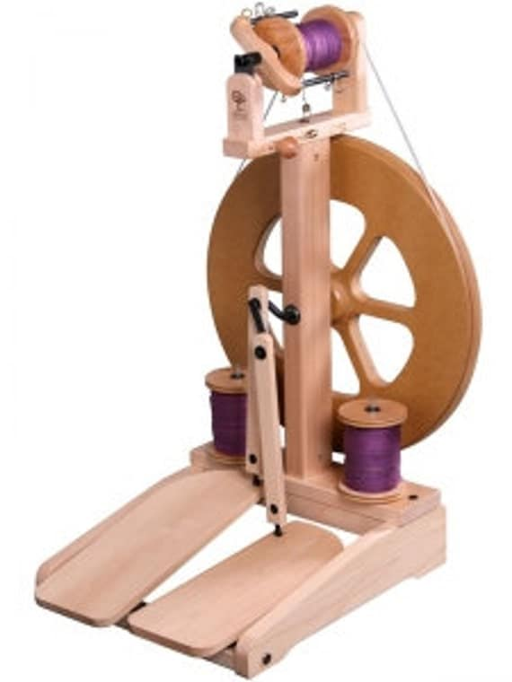 Kiwi 2 Spinning Wheel by Ashford Unfinished  US ONLY