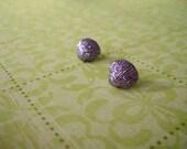 Purple Sea Shells Earring, Shells Earring, Sea Earrings, Sea Shells Jewelry, Purple Sea Jewelry