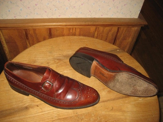 ALLEN EDMONDS   Warwick   Wing Tip Loafers    Made In USA    Mens  10  C