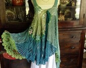 Luv Lucy Crochet Dress Lucy's Summer Meadow Skies