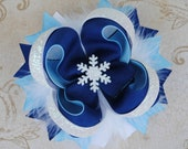 Winter Wonderland Bow - Layered Boutique Bow