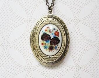 Hedgehog Locket Necklace - Hedgehog Jewelry - Animal Jewelry -  Animal Locket - Love Locket - Nature Inspired Jewelry - Hedge Hog Gift