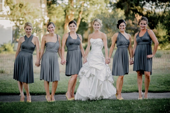 Infinity Bridesmaid Dress Versatile Convertible Style
