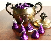 Steal a Kiss 5x7 - Still Life Photograph -  Hershey Kisses - Food Photography - Candy - Matte Finish - Home Decor
