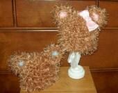 Newborn Baby Bear Hat for Twins