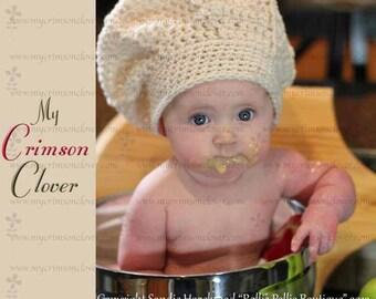 Chef Hat Pattern Crochet - Le Petit Chef Hat
