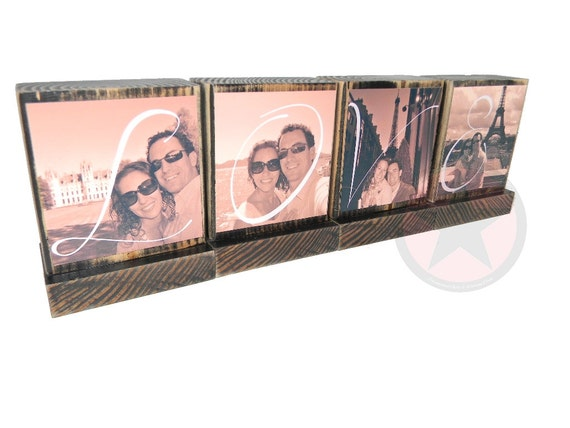 NEWLYWED GIFTS-Great Christmas Gifts-Spell Out Love-Lasting Memories Photo Displays-Great Valentines Day Gifts