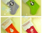 MADE TO ORDER - Christmas Stockings with name