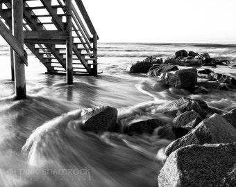Ebb and Flow - Folly Beach Tide 8x10 print