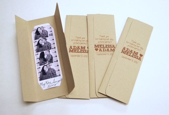 Photo booth Photo-Strip Picture Holders Party Favor Custom listing for Beverley Kelley