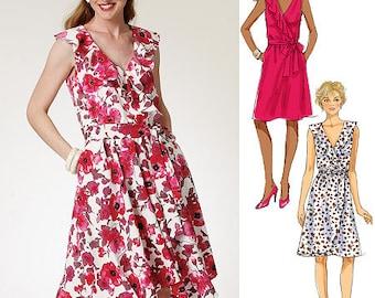 Butterick 5744BUT, Misses dress, sizes 6-8-10-12-14
