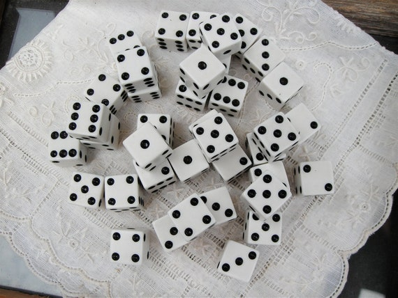 SALE dice lot   40 pieces  new old stock
