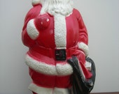 Santa - Christmas Decorations, Holiday Decor, Red