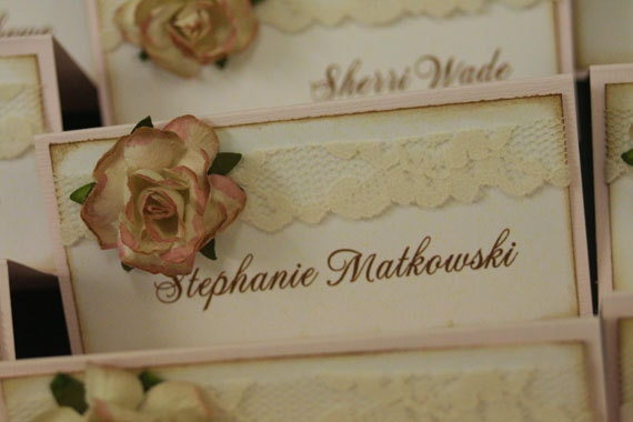 Wedding Place Cards The Vera Collection Favor Tags Paper