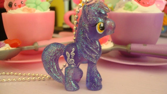 My Little Pony Royal Riff Limitied Glittery Edition Assembled Kawaii Necklace Indigo or cell phone charm you choose