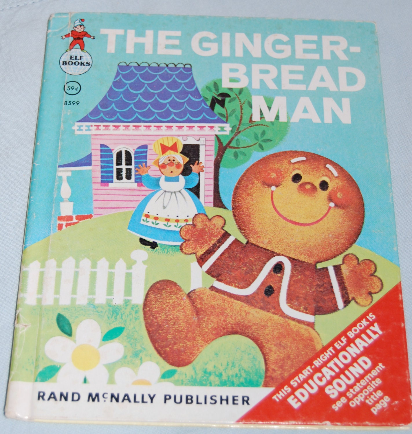 Items similar to The Gingerbread Man Vintage 1965 Children ...