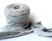 Jumbo Oatmeal Machine Cut Fabric Yarn