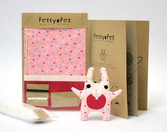 Make Your Own Petty-Pet Bunny Sewing Kit