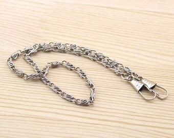 40cm silver Chain Links purse links bag chain purse chain WLs-40