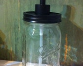 Mason Jar Soap Dispenser-Clear