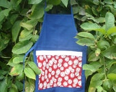 Adorable Baseball Apron for your child READY TO SHIP