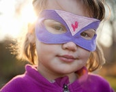 CHILD-Super Hero Mask -Lightning Bolt
