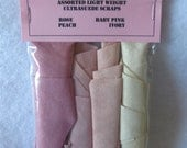 Ultrasuede Radiant Rose Petals Scrap Package
