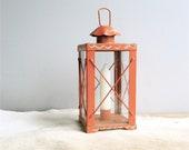 Vintage Candle Holder Lantern