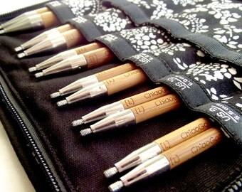 ChiaoGoo SPIN 5 inch Bamboo Large (US 9 - US 15) Interchangeable Knitting Needle Set